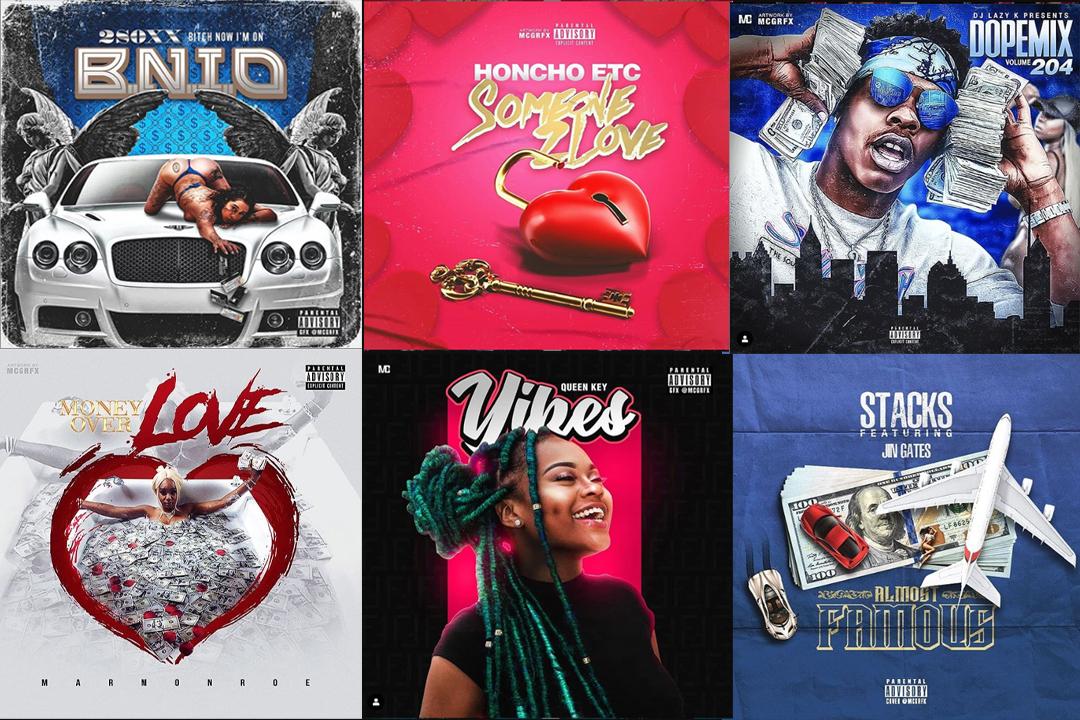 Design your single mixtape album cover art