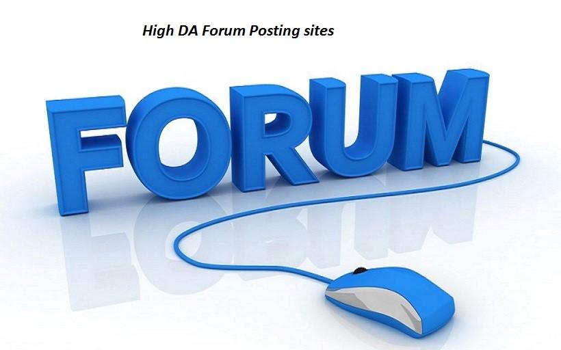 60 High Quality google ranking Forum Backlinks