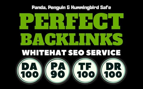 build 100 unique domain seo backlinks on da100 tf100 websites