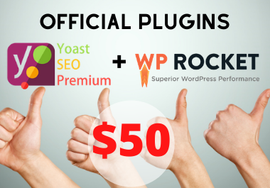 The 2 most desired Premium Plugins to ranch your website without annuities or monthly fees.