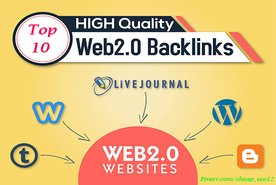 Create 10 high quality web 2.0 blogs for you