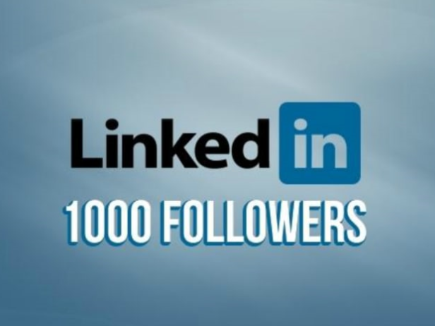 Real 1000+ High Quality Linkedin personal and company page Followers Super Fast