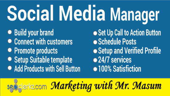 I will be your social media manager and content creator for Facebook,  Instagram,  Twitter,  LinkedIn a