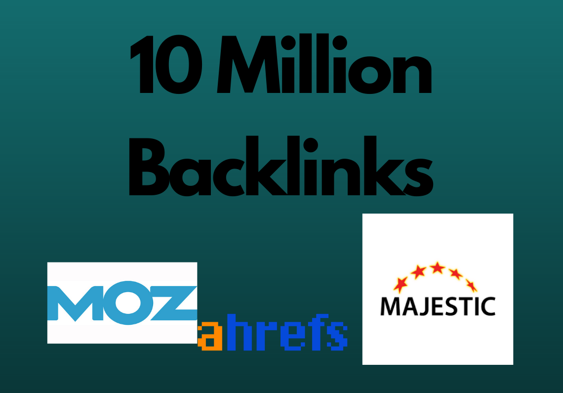 10 Million Dofollow GSA SER backlinks for websites,  videos,  Channels,  Products and online stores