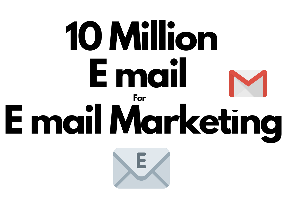 10 Million Email List for Email marketing country targeted or not