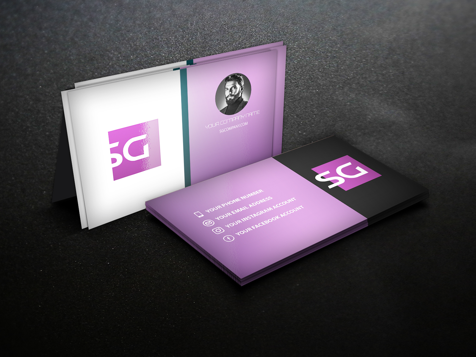 I will create your business cards