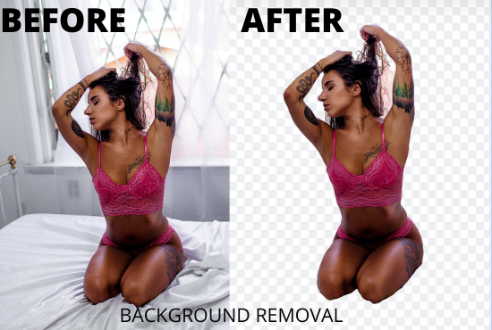 Remove 10 background images in 24hrs or less