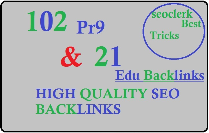 Create 123 powerful pr9 education profile seo backlinks