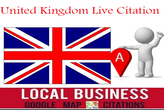 I will submit your website in 25 live United Kingdom local citations business listings