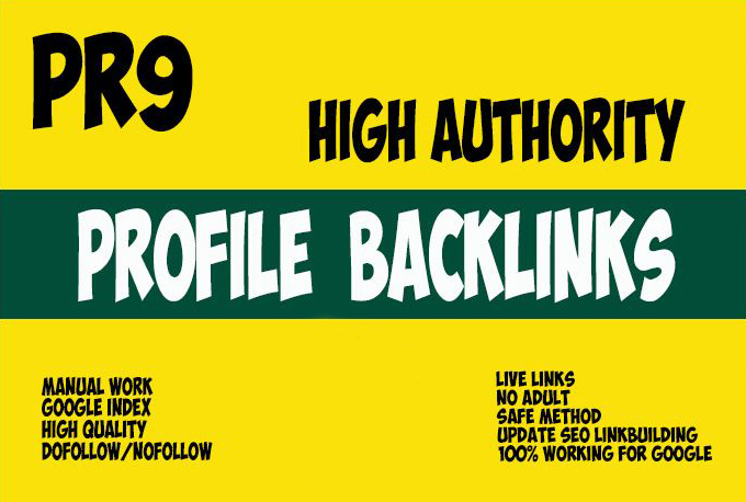 Push Your Website On GOOGLE Top Page With 100 HIGH AUTHORITY MANUAL BACKLINK