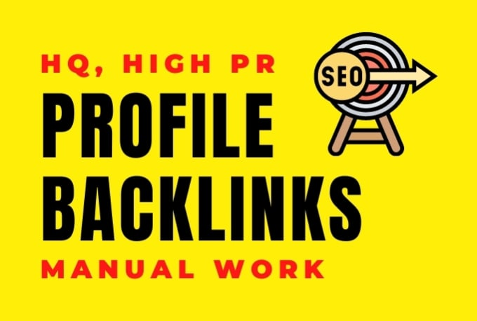 I Will Create 40 SEO Profile Backlinks on DA 50 to DA 70