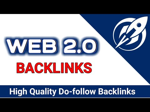 Create 15 quality High Web 2.0 backlinks Rank your Website on top in Google