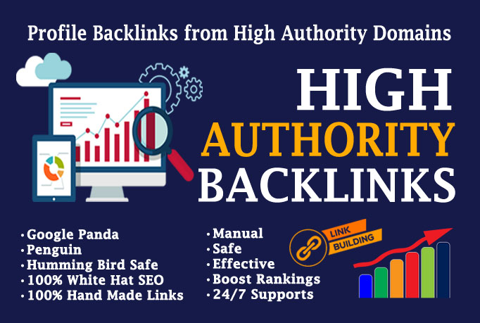 Create over 150 web 2.0 profile backlinks on high page rank sites.