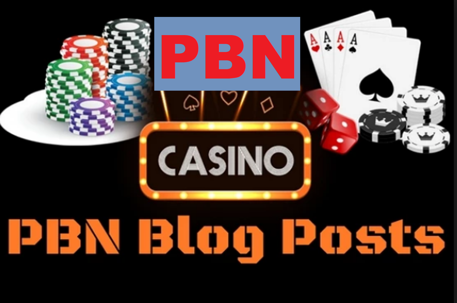 50 PBNs Post From Casino, Gambling, Poker, Betting Related Blogger Aged Blog site