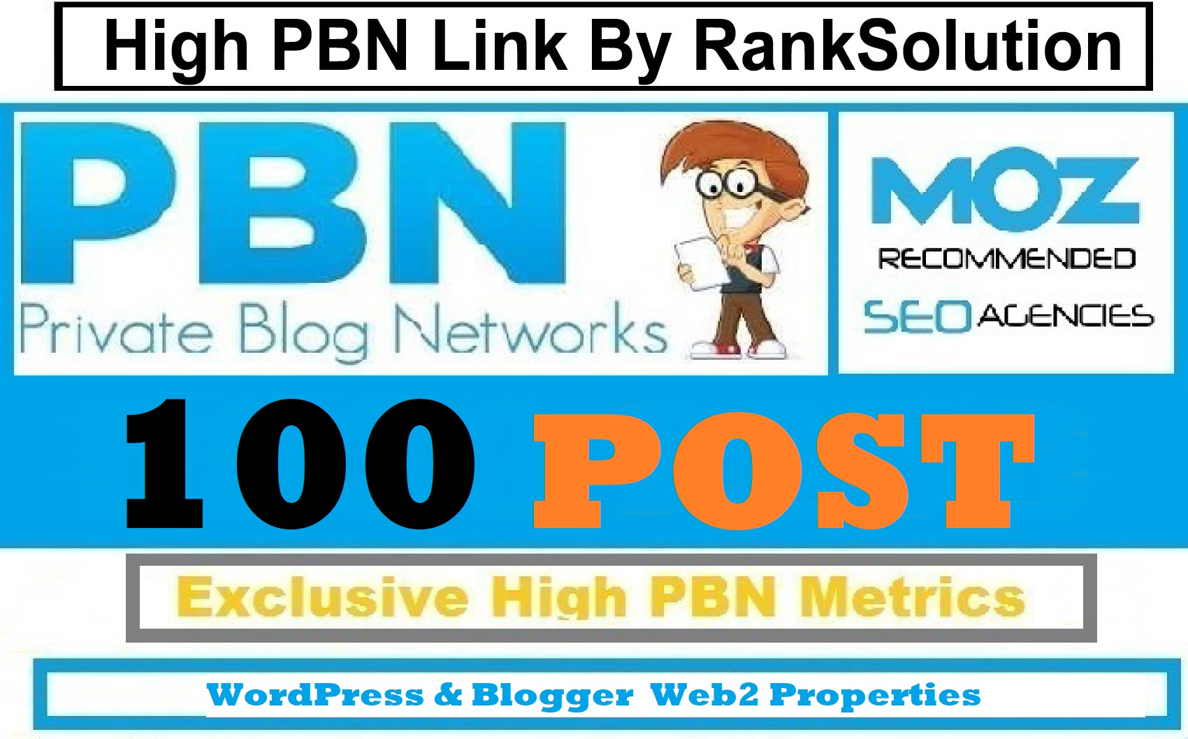 100 PBNs Permanent Blog Post From Wordpress & Blogger 90+ High DA PA Site