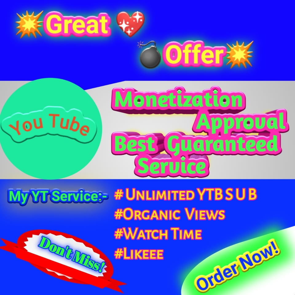 Best Buy You Tube Promotion With Real Audience