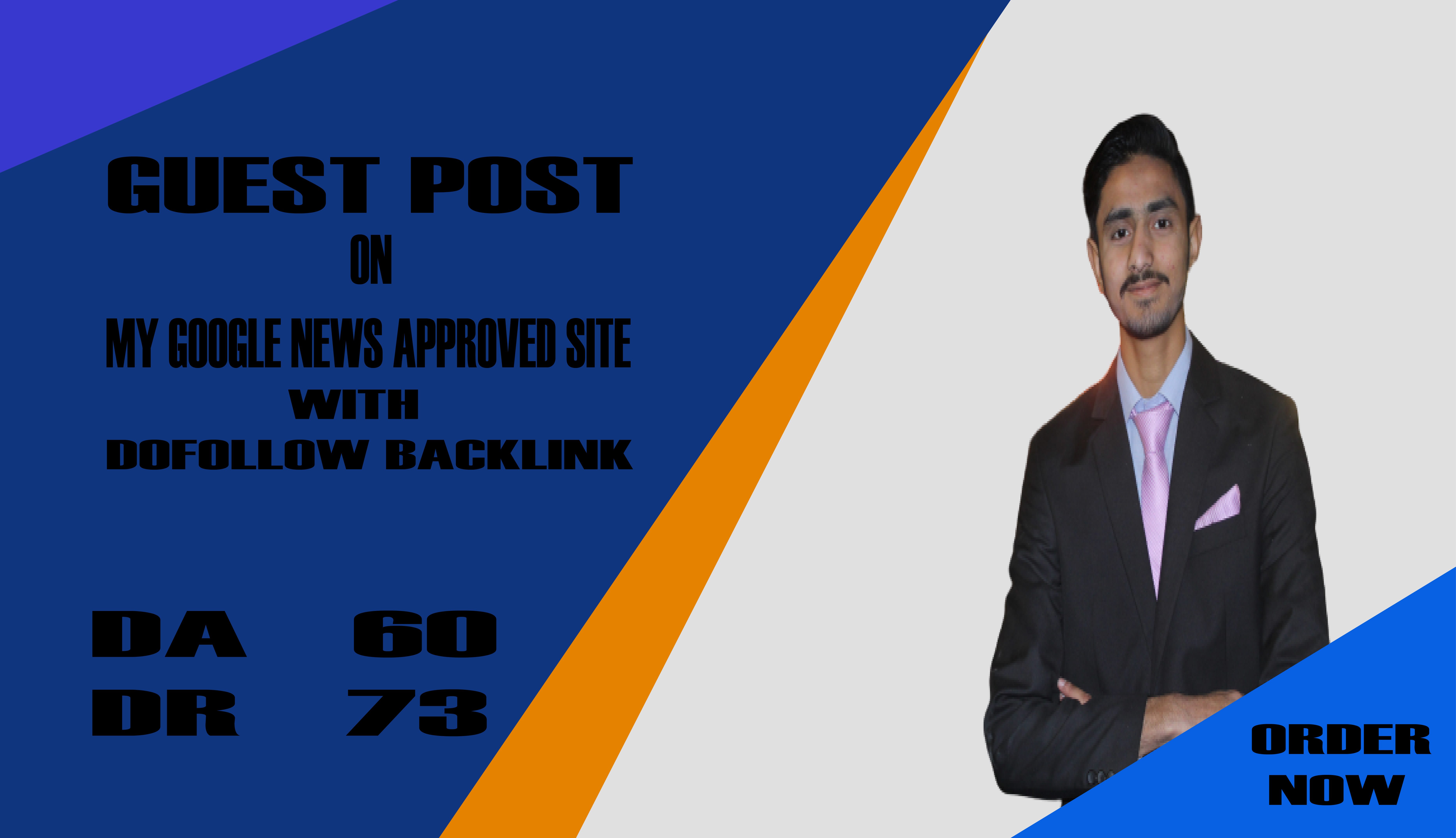 I will do guest post on my google news approved site DR 73