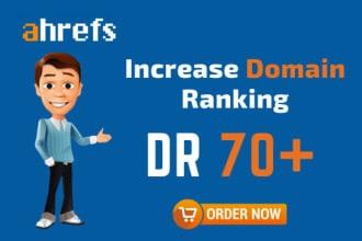 Increase ahrefs domain rating DR 50 plus in 15 days