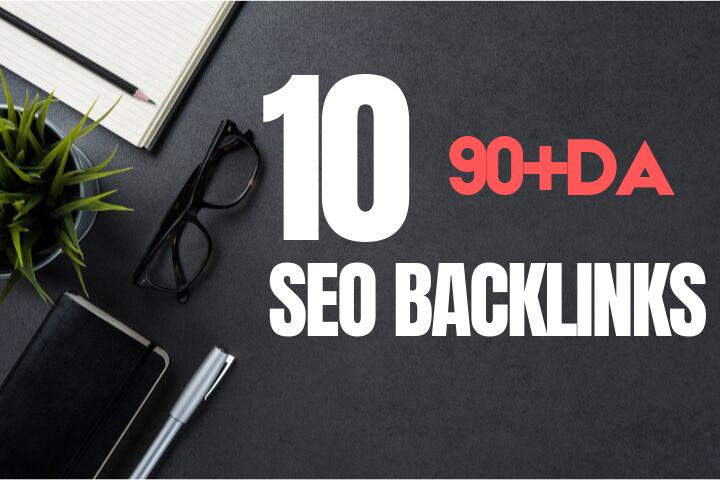 10 US Based High DA Authority SEO Backlinks From 90+DA