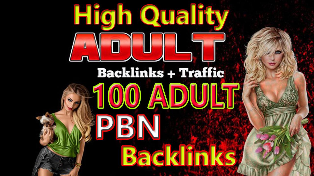 Do High Quality 100 Adult PBN Backlinks