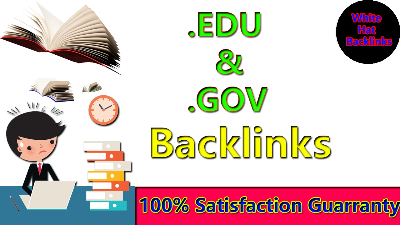 Manually create 130+. EDU. GOV Dofollow Backlinks From Authority Site with google ranking