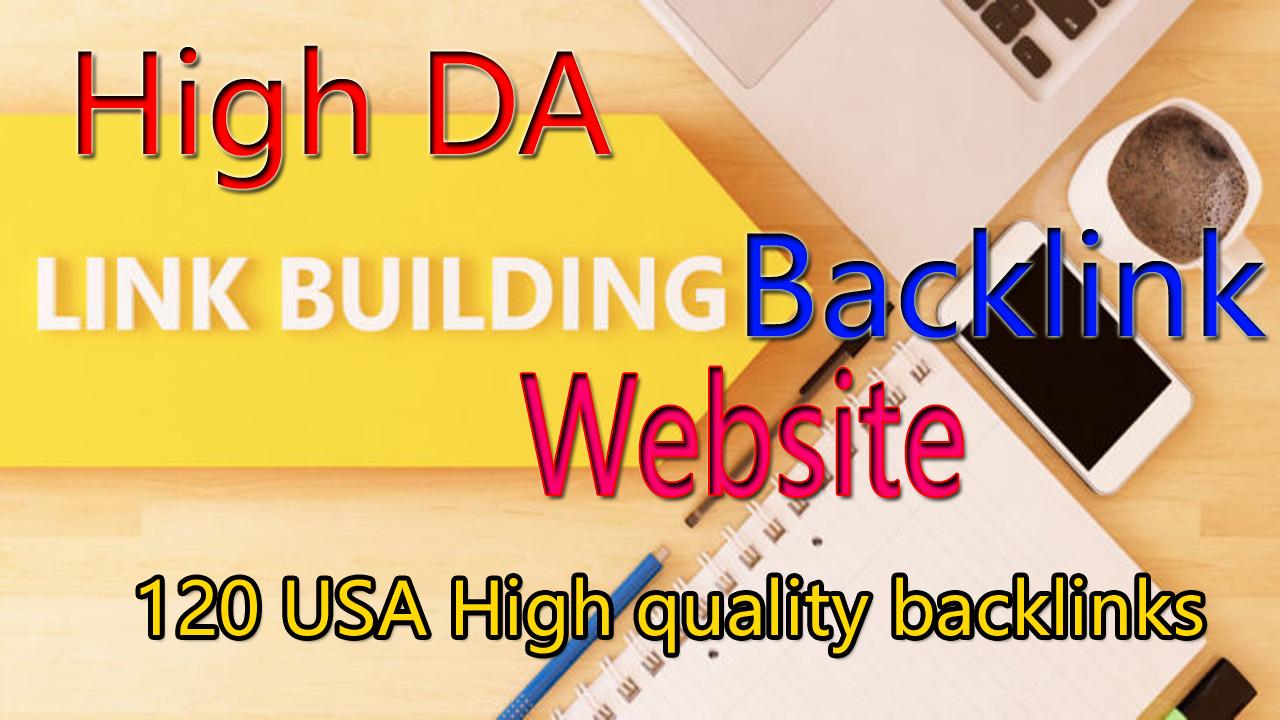 Link Building 120 High Quality Backlinks