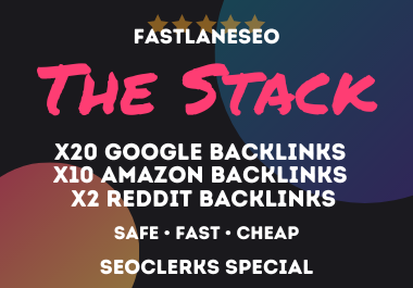 The Stack - Get This Powerful Google,  Amazon & Reddit Backlinks FREE RANK TRACKING