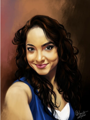 oil painting your picture within 24 hours
