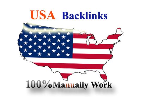 50 USA high da pr backlinks,  safe seo link building