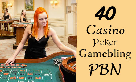 Provide 40 permanent DA 58-36+ PBN Backlinks Casino,  Gambling,  Poker,  Judi Related Websites
