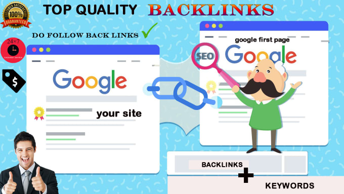 I will create a Backlinks to your site for get a good rank in Google