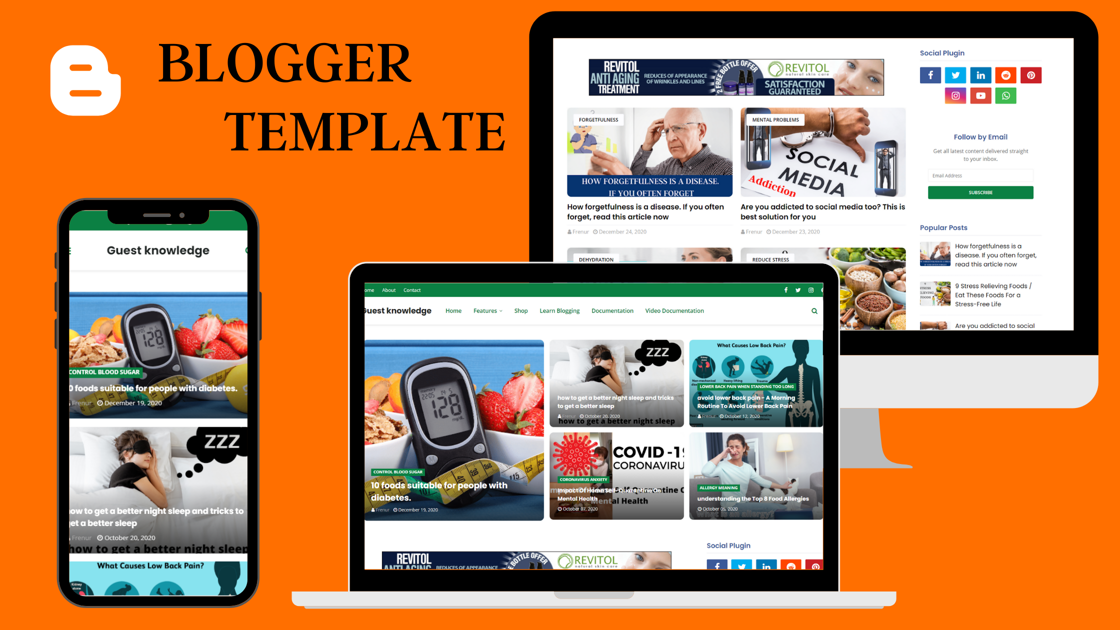 I will provide best SEO customized UI Friendly Blogger Template