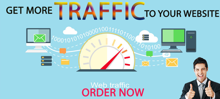 I will promise to surprise you with web traffic