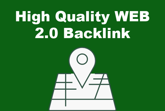 I will create high quality WEB 2.0 backlinks