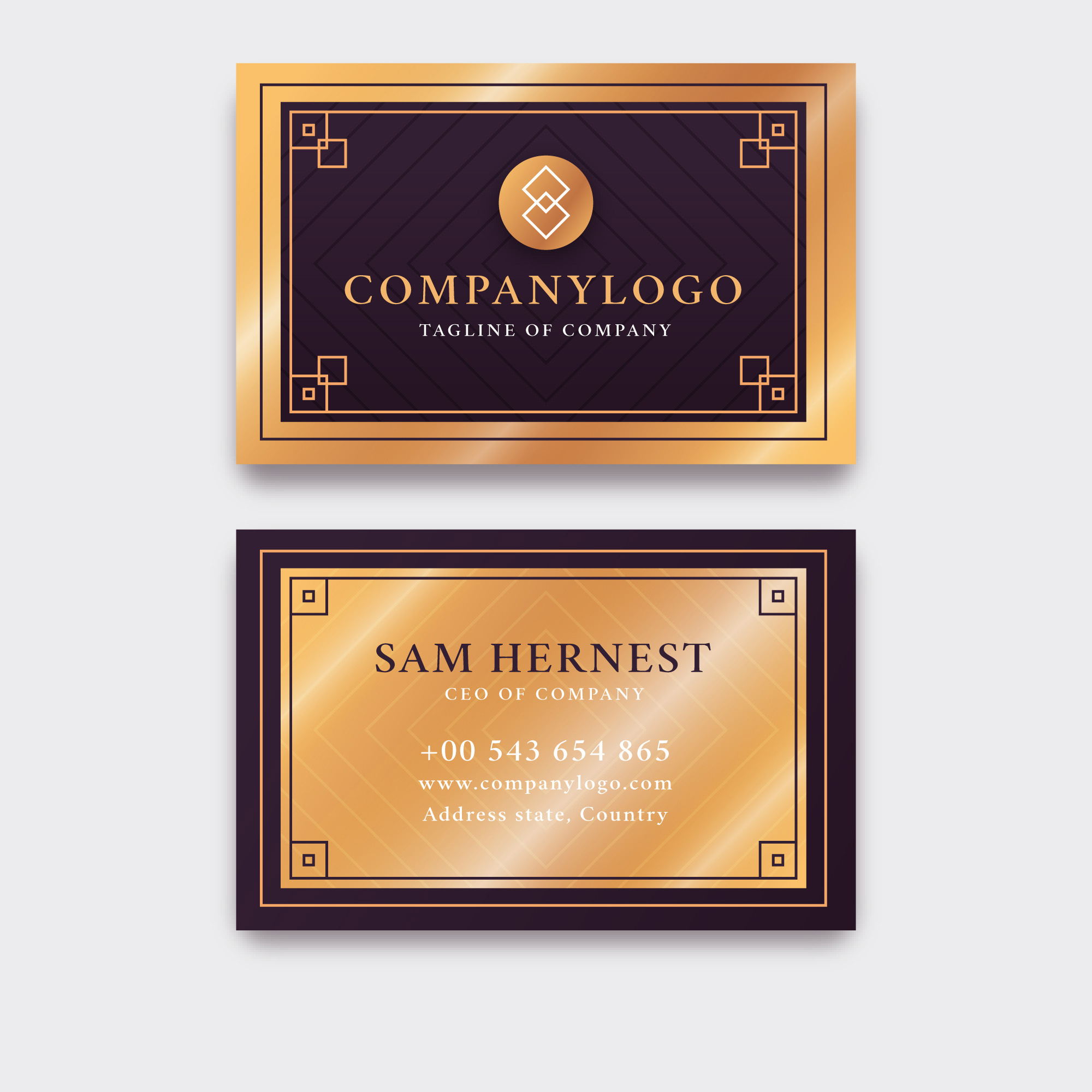 I will design luxury business card letterhead and branding stationery items