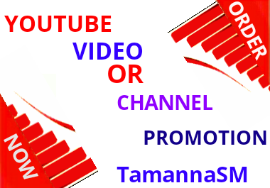 high quality youtube video or CHN promotion supper service