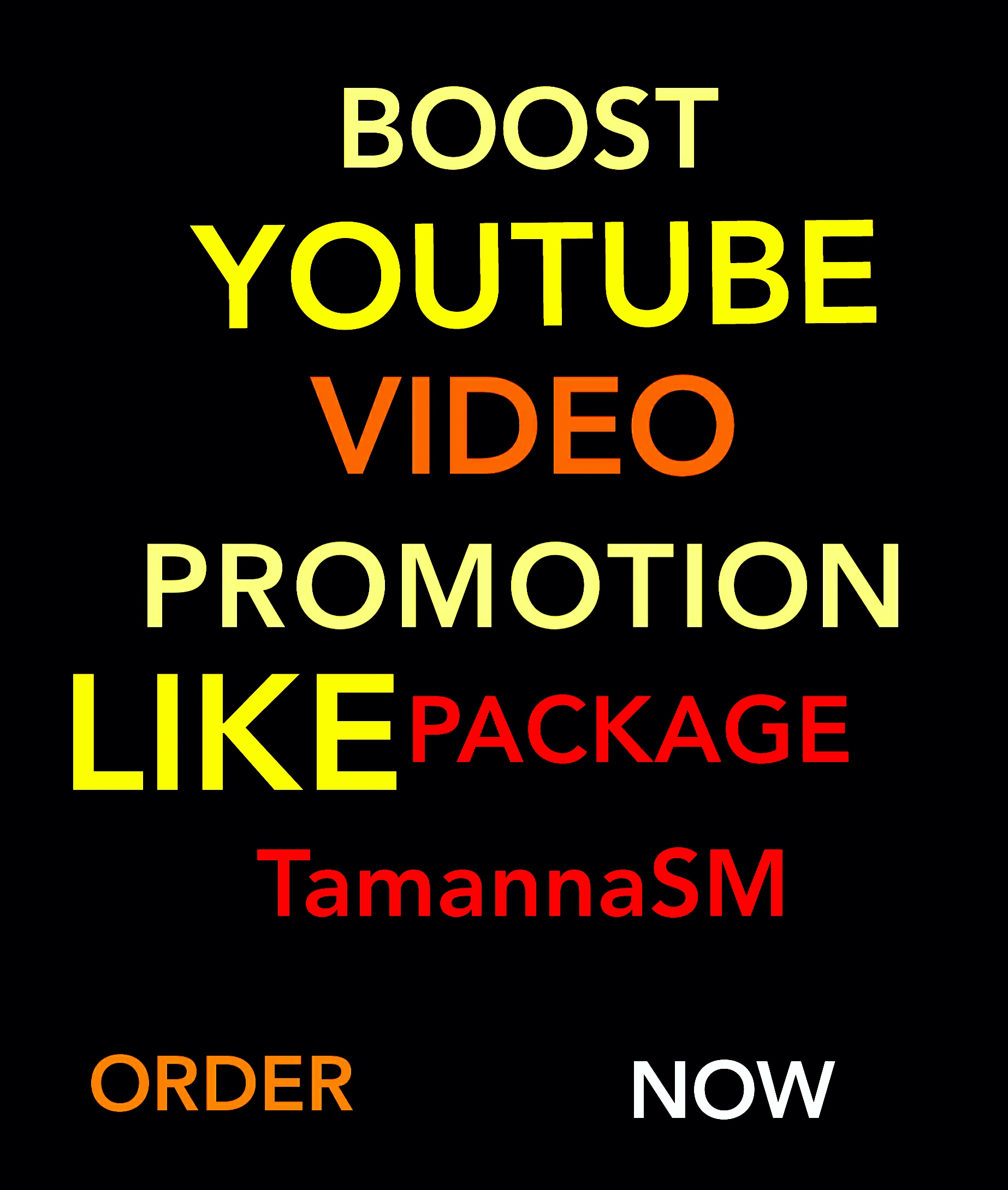 BOOST YOUTUBE VIDEO SOCIAL MEDIA MARKETING PROMOTION EXCLUSIVE FAST