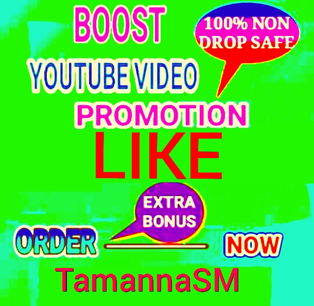 High Quality youtube video promotion supper fast