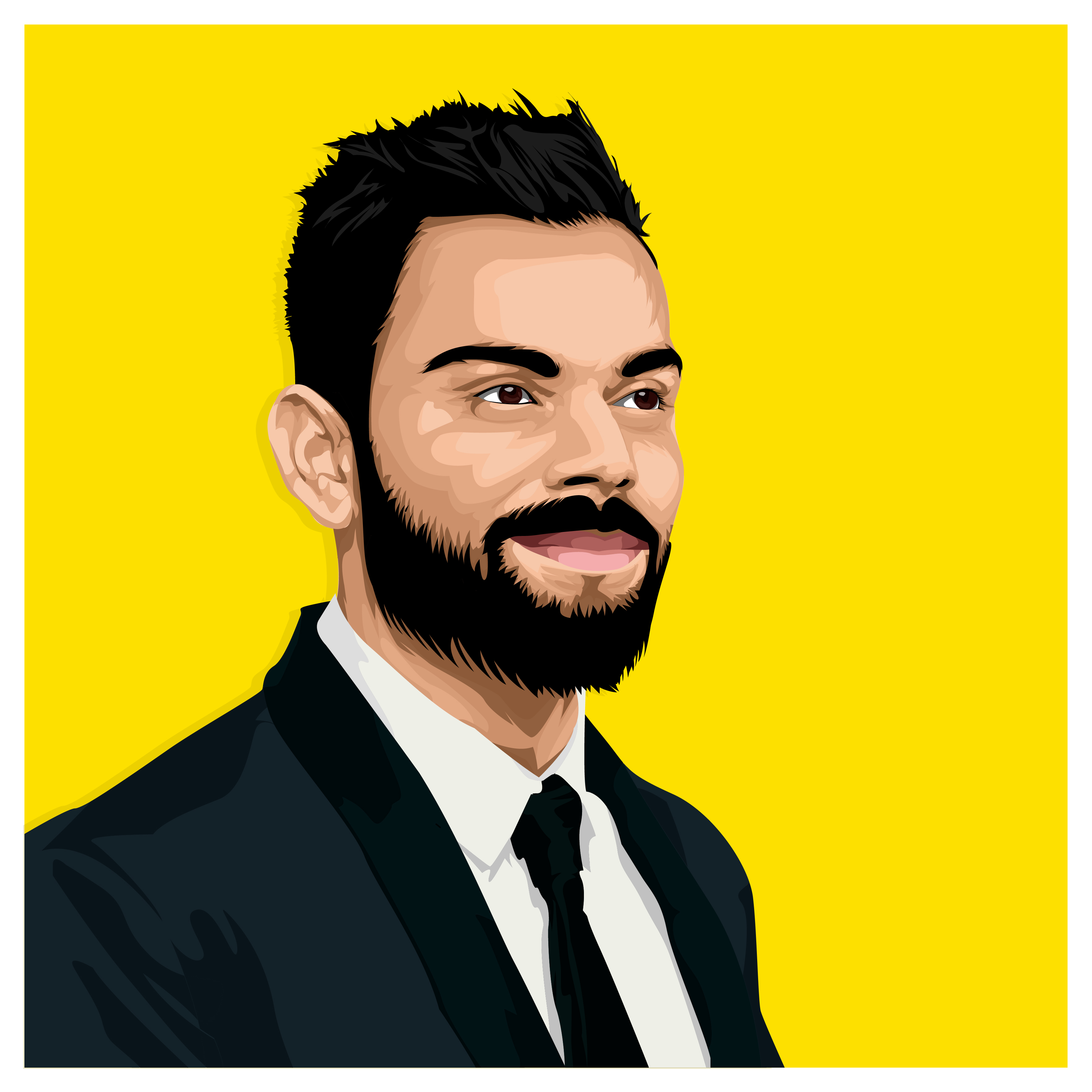 I will draw you Portrait vector from your photo