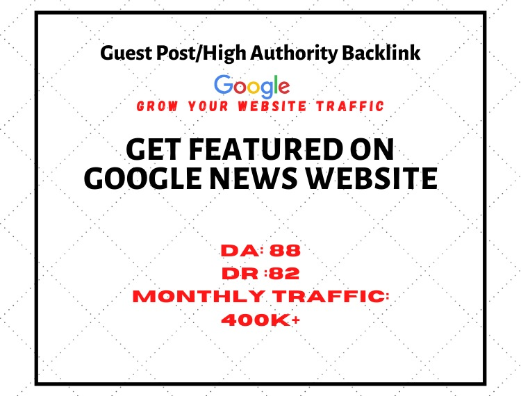 i will Guest post on dr 88 with high authority backlinks