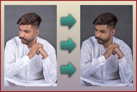 Any pitchers background remove, retouching, manipulation