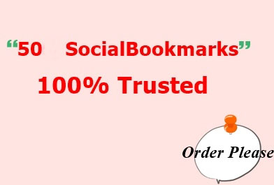 50 Social Bookmarking,  Trusted & Fasting