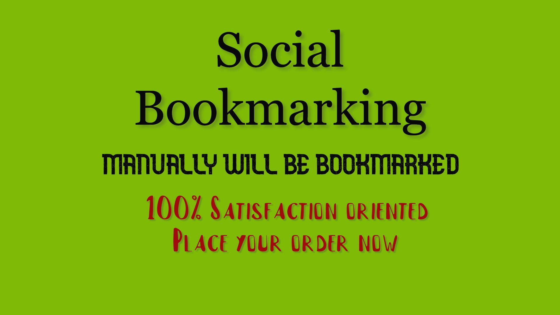 30 Manual social bookmarking with backlinks