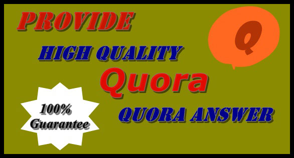 Promote your website by creating 8 HQ Quora Answer for targeting traffic