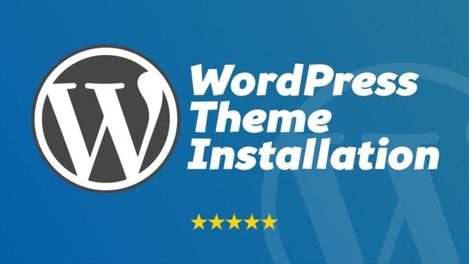 I will install wordpress theme and setup like demo within 3 hours