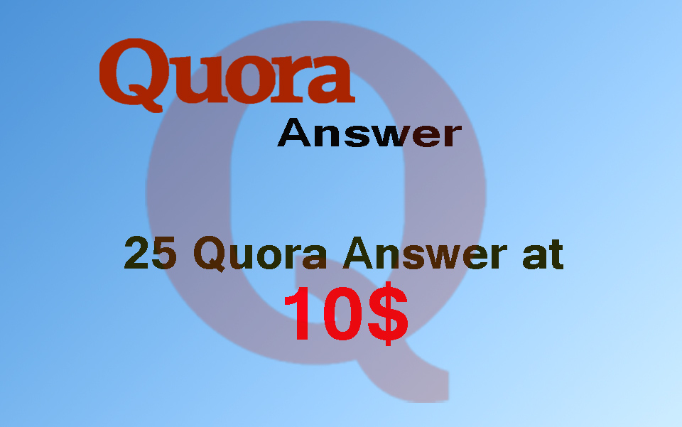 Great Offer Grow your Business with Quora Answers