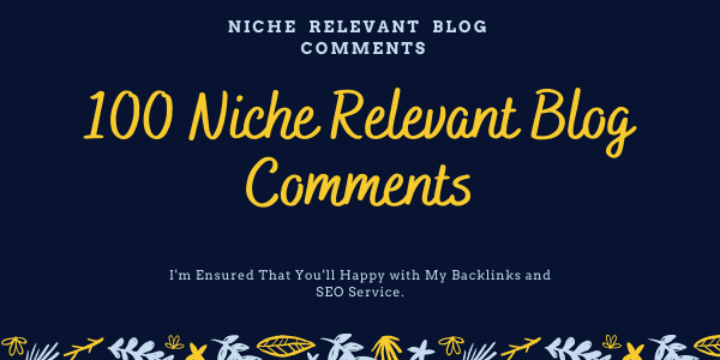 I Will Build 100 Nofollow Niche Relevant Blogcomments Backlinks