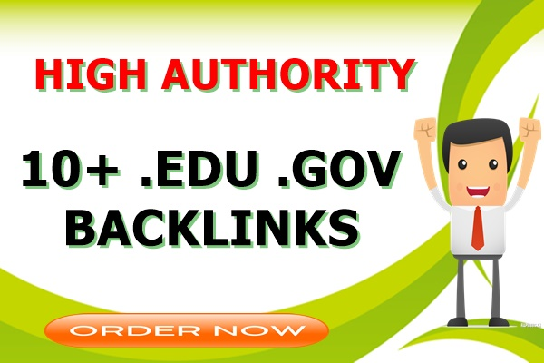 10+. Edu. Gov High Authority SEO Backlinks for website rank Boost