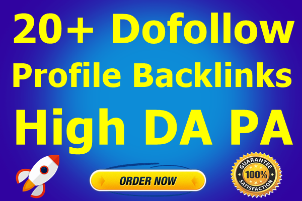 20+ High DA PA PR9 Dofollow Backlinks on DA100-Top Service