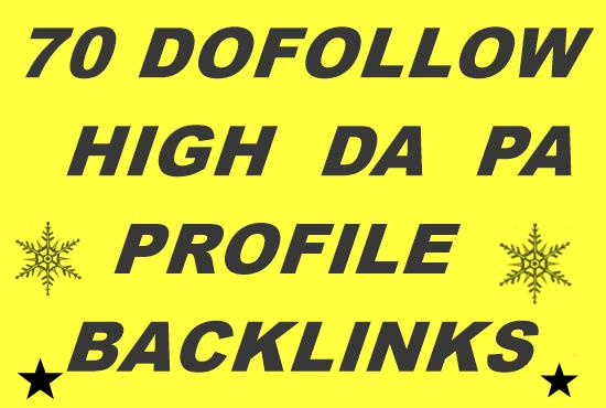 70+ PR10 high authority Dofollow Backlinks on DA100 sites Plus Edu Gov Links